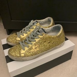 Golden Goose Gold Limited Edition 3D Jelly Size 38